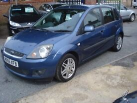 Ford FIESTA 1.4 Ghia 5dr, 2006 model, 73K, Long MOT, Clean in & OUT, Full Leather
