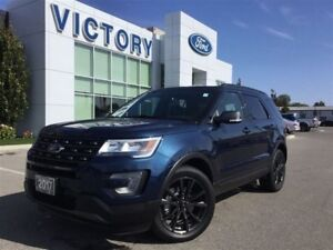 2017 Ford Explorer XLT,4WD, LEATHER, ONLY 3900KM!!!