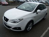 2011 11 SEAT IBIZA 1.4 SE COPA 3D 85 BHP **** GUARANTEED FINANCE **** PART EX WELCOME ****