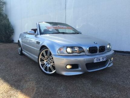 2003 BMW M3 E46 Silver 6 Speed Sequential Manual Convertible West Footscray Maribyrnong Area Preview