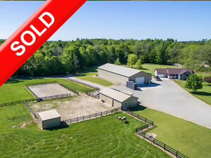 SOLD: Lifestyle Farm w View & OpenConcept Home by Tillsonburg