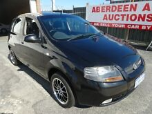2007 Holden Barina TK MY07 Black 5 Speed Manual Hatchback West Perth Perth City Preview