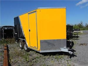 Remorque Fermée aluminium 7X12 / Enclosed Trailer
