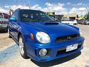 2002 Subaru Impreza S MY02 WRX AWD Blue 4 Speed Automatic Hatchback Maidstone Maribyrnong Area Preview