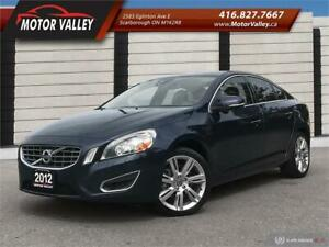 2012 Volvo S60 T6 AWD NO ACCIDENT CLEAN VEHICLE!