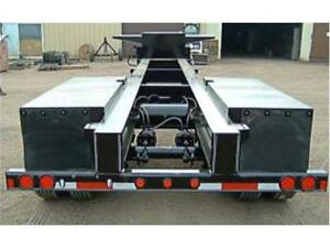 2017 Custom Built Chassis Double A Trailers/ Conqur Ind.