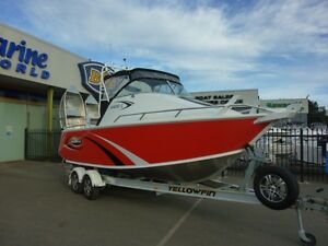 YELLOWFIN 6400 CABIN 2013 FISHING BOAT LOW HOURS Campbellfield Hume Area Preview
