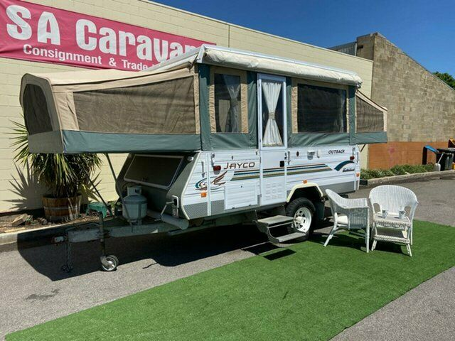 2004 JAYCO EAGLE OUTBACK with AWNING and ANNEX | Caravans ...