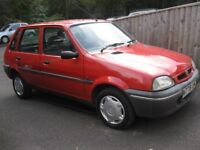 1995 ROVER METRO 100 MOT F, S, HISTORY ONE OWNER 70000 MILES POSS PART X