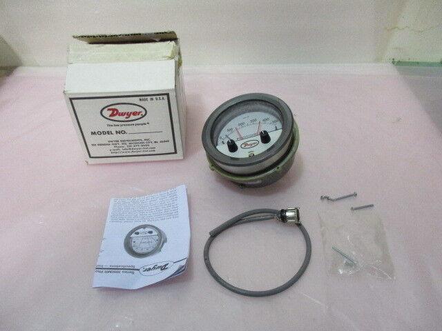 Dwyer Series 3000MR Photohelic Pressure Switch, 3000MR-60PA, 0-500 Pascal 407797