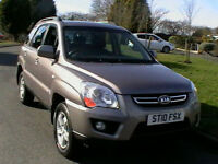 10 REG KIA SPORTAGE 2.0 CRDi 4WD XS DIESEL 5 DOOR ESTATE IN BRONZE METALLIC