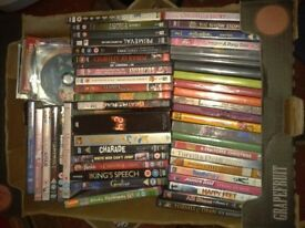 467 DVD's / CD's, mixed, Drama, works out at 6p each