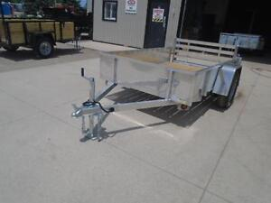 DISCOUNTED PRICE - QUALITY ALL ALUMINUM 5X8 UTILITY TRAILER London Ontario image 3