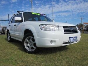 2006 Subaru Forester 79V 2.5X White 5 SPEED MANUAL Wagon Wangara Wanneroo Area Preview