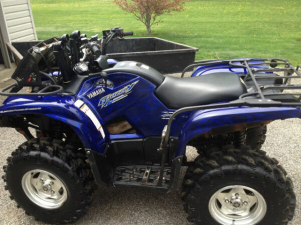 Used 2009 Yamaha Grizzly 700 SE