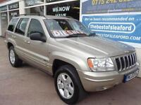 Jeep Grand Cherokee 2.7 CRD auto Limited Full S/H 4x4 P/X Swap