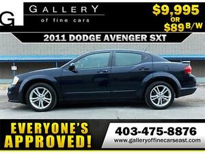 2011 Dodge Avenger SXT $89 BI-WEEKLY APPLY NOW DRIVE NOW