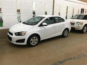 2012 Chevrolet Sonic LS  27$/sem. Manual