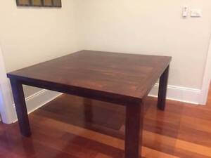 Solid timber 8 seater dining table - excellent condition Cremorne North Sydney Area Preview