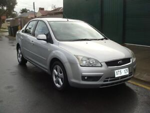 2005 Ford Focus LS LX Silver 5 Speed Manual Sedan Broadview Port Adelaide Area Preview