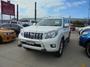 2010 Toyota Landcruiser Prado KDJ150R Kakadu White 5 Speed Automatic Wagon Granville Parramatta Area Preview