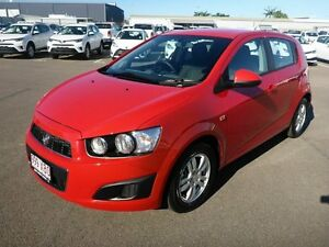 2015 Holden Barina TM MY15 CD Red 6 Speed Automatic Hatchback Vincent Townsville City Preview