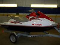 2011 YAMAHA WAVERUNNER 1100 WITH REVERSE!!