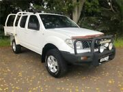 2010 Nissan Navara D40 RX White Manual Utility Hamilton North Newcastle Area Preview
