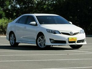 2011 Toyota Camry ASV50R Atara SX White 6 Speed Sports Automatic Sedan Blair Athol Port Adelaide Area Preview