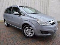 Vauxhall Zafira 1.8i Design ....7 Seater, Half Leather, New 12 Months MOT Included, Warranty