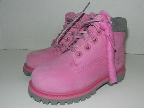 Timberland Primaloft  PINK Waterproof Boots Toddler Size 7 (EUR 23.5)