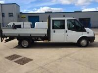 Ford Transit 350 EF DROPSIDE WITH TAIL LIFT 125BHP