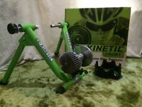 Kinetic Precision Bike Trainer for indoor use to support training.