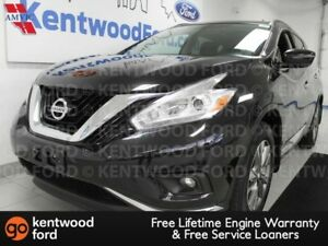 2017 Nissan Murano SV AWD with NAV, sunroof, heated power leathe