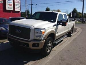 2011 Ford F-250 King Ranch **With Hydraulic Toy Lift in Bed**