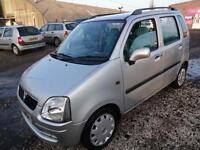 VAUXHALL AGILA 1.2 16v DESIGN~03/2003~MANUAL~5 DOOR MPV~STUNNING METALLIC SILVER