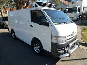 2009 Toyota Hiace Refrigerated LWB 4 Speed Automatic Van Homebush West Strathfield Area Preview