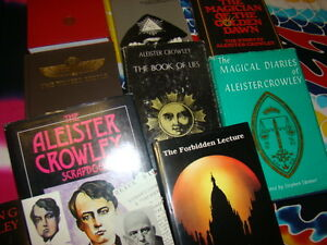 Numerous spiritual occult books, Crowley and more Kingston Kingston Area image 2