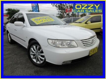 2006 Hyundai Grandeur TG Limited White 5 Speed Sequential Auto Sedan Minto Campbelltown Area Preview