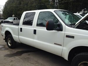 2005 Ford F-250 Pickup Truck with 8ft Arctic Plow