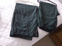 "Regatta Cargo Trousers 2 Pairs - 42"" waist 31"" leg - Used but Like New"
