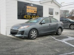2013 Mazda 3 SEDAN 2.0 L*SPARE SET OF TIRES*