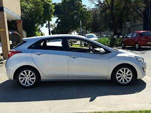 2015 Hyundai i30 GD MY14 Active Silver 6 Speed Automatic Hatchback Five Dock Canada Bay Area Preview