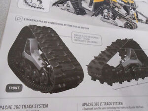 CAN-AM APACHE TRACKS MOUNTING KIT