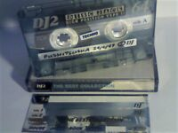 TDK DJ2 DISC JACK II 64 C64 CHROME CASSETTE TAPES