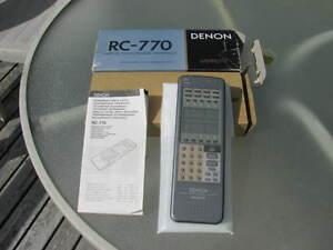 Denon master learning remote.
