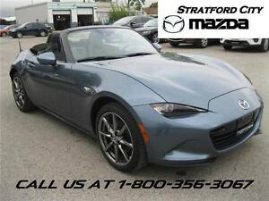 2016 Mazda MX-5 GT COMPANY DEMO! FULLY LOADED! AUTOMATIC!