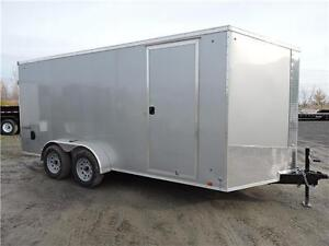 Remorque Fermée modele SE 7X16 / Enclosed Trailer