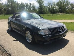 1990 Mercedes Benz 500SL AMG Package