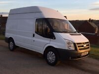 Transit 140 bhp 6 speed transit mwb high roof